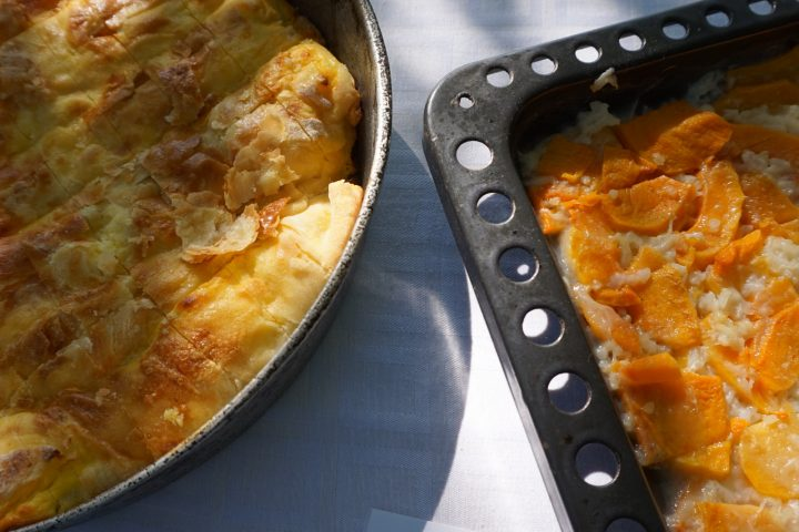 The Romanian cheese pie is a treat for your taste buds